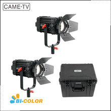 2pcs/set CAME-TV 60w Boltzen Bi-Color Fresnel Fanless Focusable Studio Camera Video Led Lights