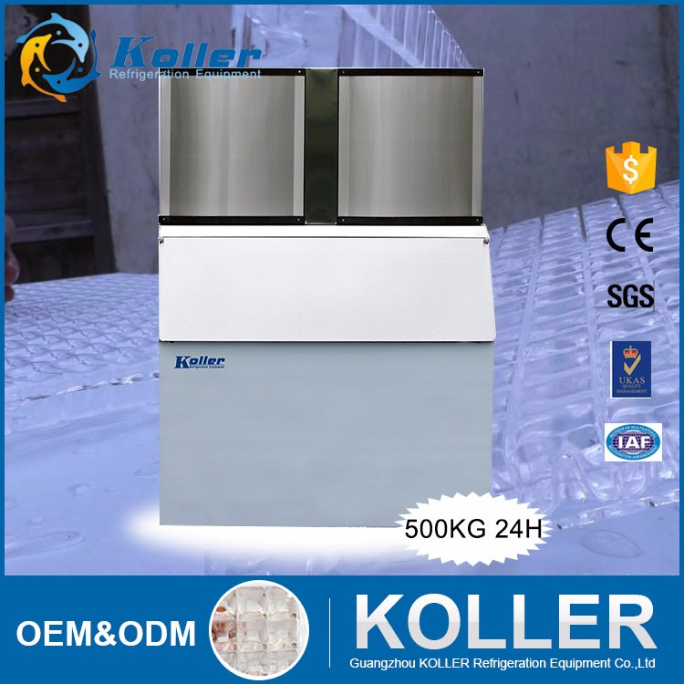 220 v 0.5 ton CV500 Commerciële Ice Cube Maker Machine