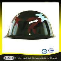 DOT police motorcycle helmet green soldier helmet