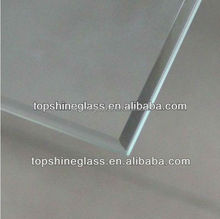 beveled edge tempered glass with BS3193 & EN12150 certificate