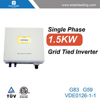 Grid tied system used 3000 watts power inverter with mppt controller