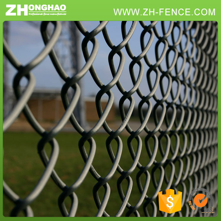 Galvanized Wire Pvc Coated Heat Treated Chain Link Mesh