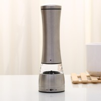 electric pepper grinder,stainless steel salt and pepper grinder mill wholesale