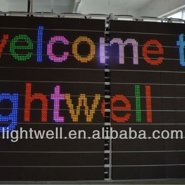 Cheap price waterproof long life span led RGB 7 COLOR channel letter signs