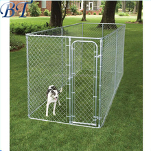 Direct factory 2.3x2.3x1.2m outdoor chain link dog kennel lowes/ large dog cage