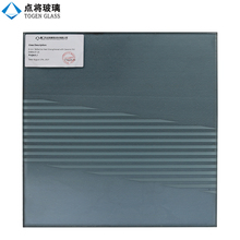 8mm Reflective Heat Strengthened Glass with Ceramic Frit