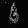 Abstract art resin indoor decoration polyresin sculpture