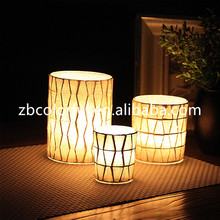 Replacement mosaic tall glass tealight candle holders