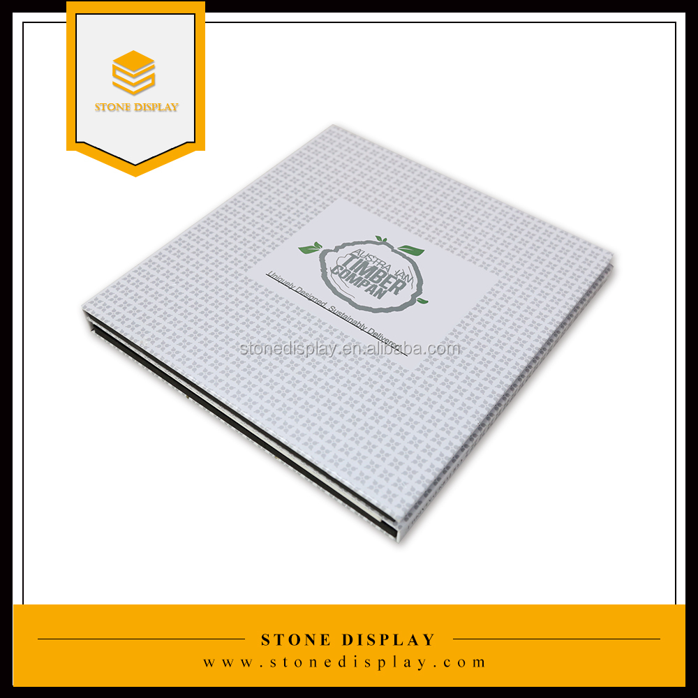 New Design Stone Sample Books from China