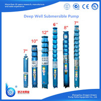 QJ series deep well used submersible vertical multistage pump