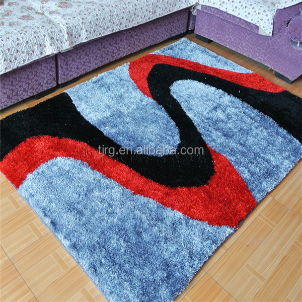 Polyester Shaggy Rugs for living room