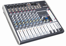 Guangzhou BNK professional power mixer audio console with cheap price E12