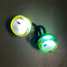 Minicar Fidget Finger <strong>Yoyo</strong> with LED lights colorful luminous <strong>yoyo</strong> ball decompression treasure bead adult finger toys gifts