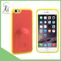 Wireless Bluetooth shutter advertising phone case for iphone 6 Only one control button