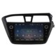 Android 7.1.2 car dvd player stereo radio with Left Hand Drive Car Multimedia system car video for hyundai i20