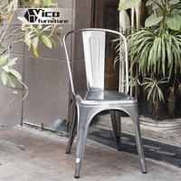cheap and durable modern design dining furniture metal restaurant chair