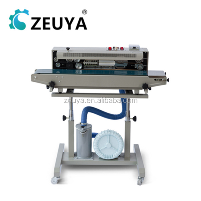 New Arrival Flushing plastic bag heat sealer DRF-1000 With CE