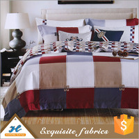 Latest Style Bed sheet use Cheap placement print fabric