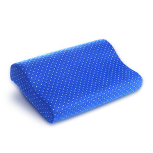 Ventilate Fabric Cover Anti Snore Neck Support Pu Foam Contour Cooling Bamboo Pillow