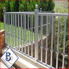 used cheap galvanized pvc powder coated plastic picket fencing for sale