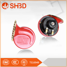 90mm china red auto snail horn 12v motorbike