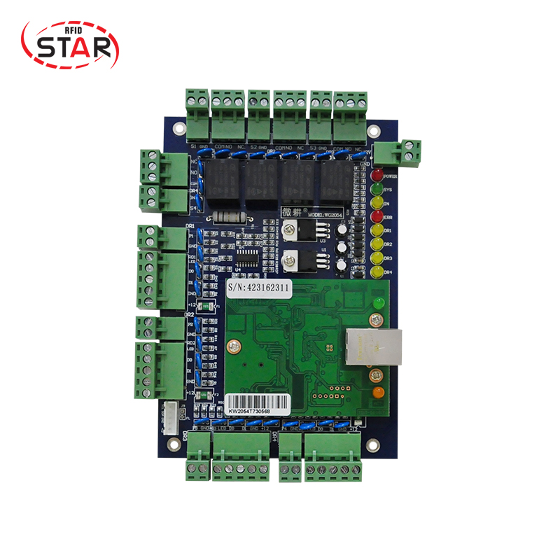 Tcp/ip Module Rfid Network Door Access Control Panel four door Access Controller for sale (ST-04)
