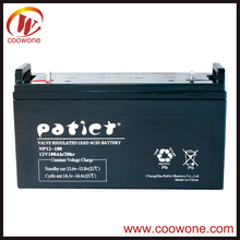 Hot sale solar lead acid 12v 120ah battery box