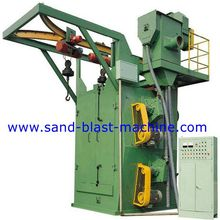 Q378 Overhead Rail Spinner Hanger Shot-blasting Machine