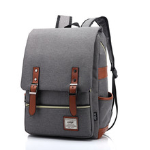 Guangzhou manufacturer custom blank fashion travel laptop backpack