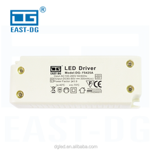 Plastic cover 25W 300ma Constant Current led street light driver with high quality