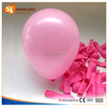 7inch 1G Round Latex Balloon, Pink Color Party Balloon, Small Size Round 15cm