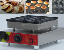 High quality Commercial 25pcs 110V 220v Electric Dutch Poffertjes mini pancakes making machine,machine for making pancakes