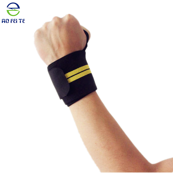 Top selling products wrist sweat bands weightlifting weight lifting wrist wraps, wrist brace
