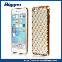 Transparent Soft design smart phone TPU plastic case manufacturer for iphone 6