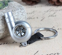 Custom High Quality Turbo Keychain Metal Car Key Chain