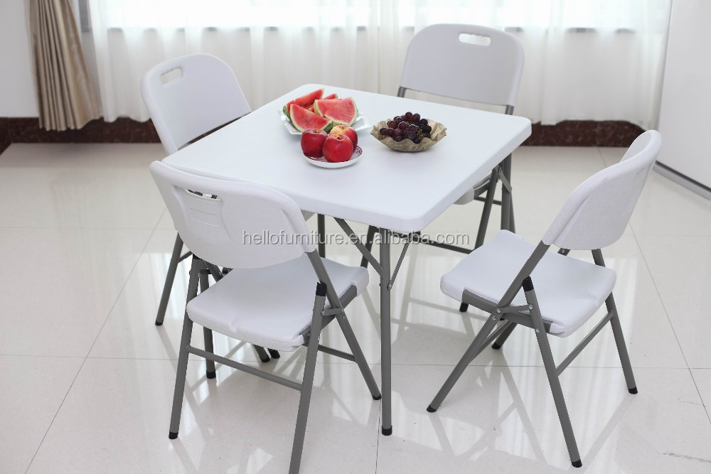 Durable Structure Square folding table