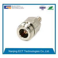 N Female to SMA Female Connector Straight RF Coaxial Adapter
