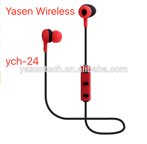ych-24 CRS4.0 Sports Stereo Headset bluetooth wireless earphone Mini Earbuds Hand Free Headphone for ios and android