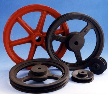casting rope pulley wheel,zinc alloy strap wheel / v-belt pulley,V groove belt pulley