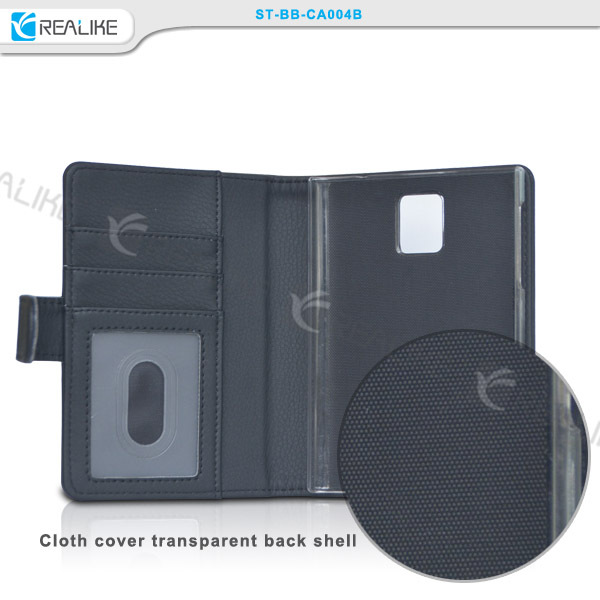Online shop alibaba for BlackBerry BB Passport leather case