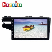 "Dasaita 10.2"" Android 7.1 car gps navigation audio radio stereo multimedia player no DVD for Honda Fit 2013+ with bluetooth WIFI"