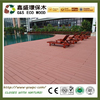 Hollow wpc decking floor wth recycled materials outdoor wood plastic composite decking