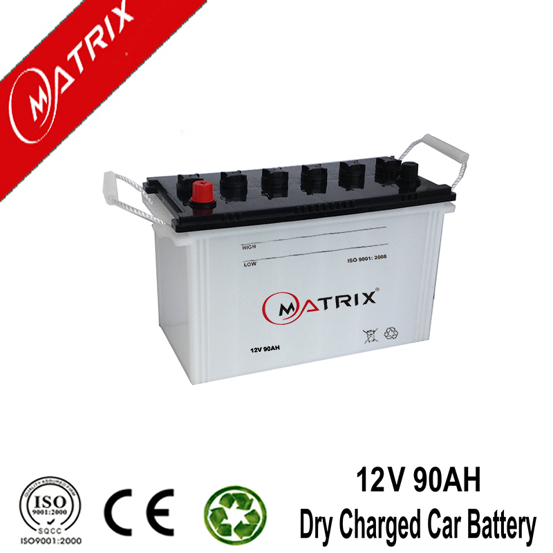 Largestar high quality Dry battery N90 12V 90Ah Japan standard
