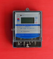 6+1 digit lcd analog wattmeter for home