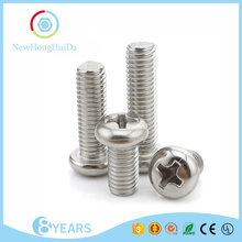 M2 M2.5 M3 M4 M6 M8 M10 Din7985 China Screw Manufacturer Stainless Steel Screw,Philips Cross Recessed Pan Head Machine Screws