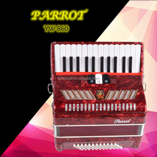 Chinese Keyboard 26 Keys 48 Bass Kids Children Parrot Piano Accordion For sale