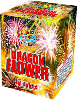 consumer cakes 500g christmas and new year fireworks-H116ABC