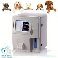hot sale animal clinical auto 3 parts diff hematology analyzer