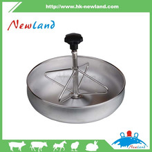 NL801 stainless steel pig feeding trough,piglet feed trough