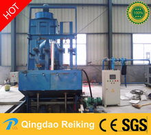 Steel LPG cylinder shot blast machine from China